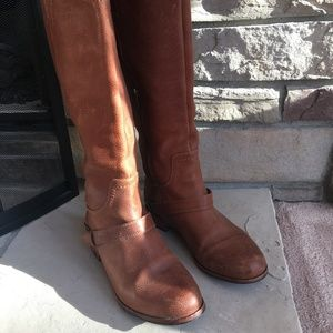 Ugg Tall Brown Leather Boots